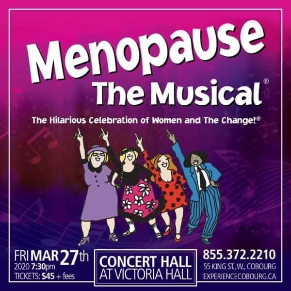 menopause the musical promotional poster