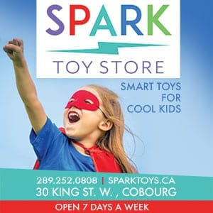 web banner, digital ad, shopping cobourg, cobourg, downtown cobourg, shopping, cobourg dbia, cobourg tourism, toy store cobourg, spark toys cobourg, kids toy store, cobourg toys