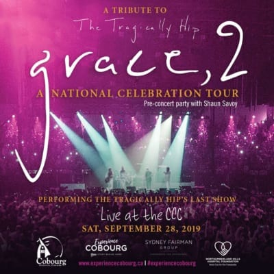 grace 2, cobourg community centre, ccc, concert hall at victoria hall, concert, poster