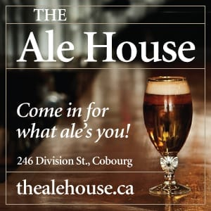 cobourg, cobourg tourism, experience cobourg, website, banner, digital ad, food, restaurant, ale house, the ale house, craft beer, pub