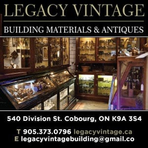 """cobourg, cobourg tourism, experience cobourg, website, banner, digital ad, experience, adventure, attraction, things to do cobourg, shopping, legacy vintage, legacy building supply"""