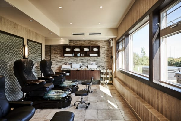 photo of manicure and pedicure room at northumberland heights