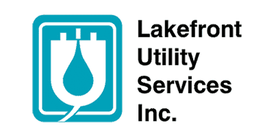 lakefront utility services logo