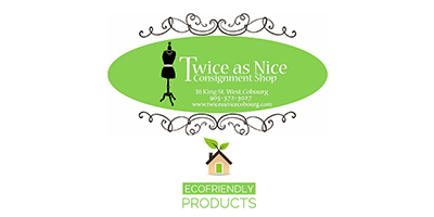twice as nice consignment shop logo