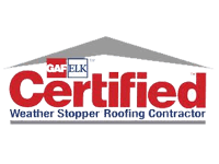 gaf certified weather stopper roofing contractor logo