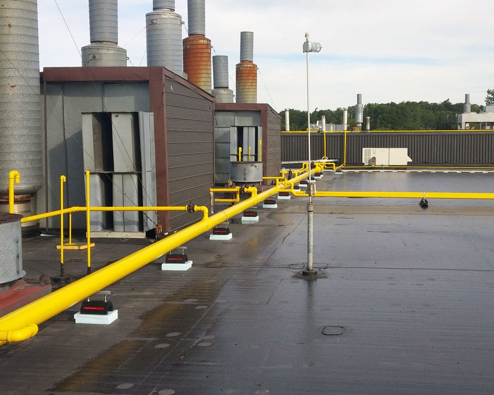 Industrial Commercial Flat Roof