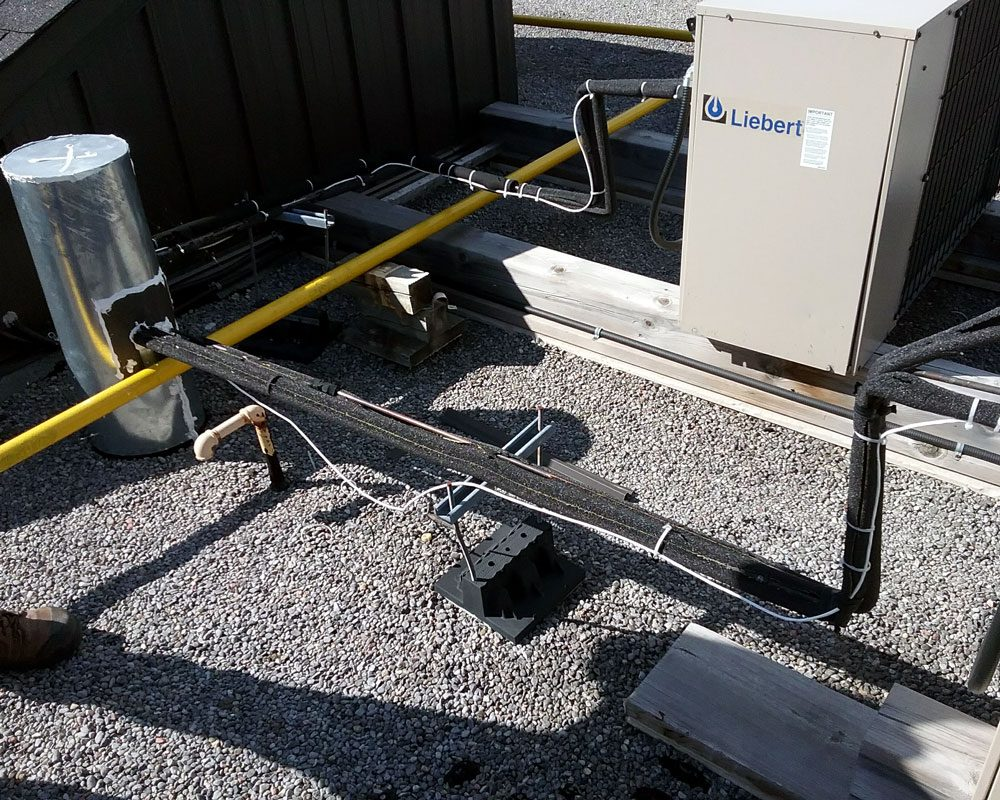 Industrial Commercial Roof Equipment Installations