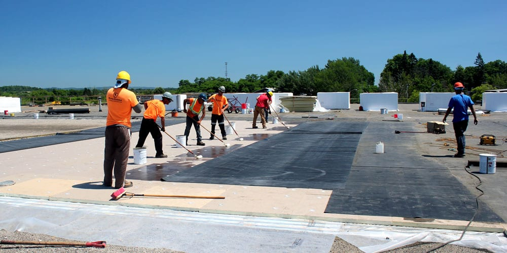 Industrial Commercial Flat Roof Install