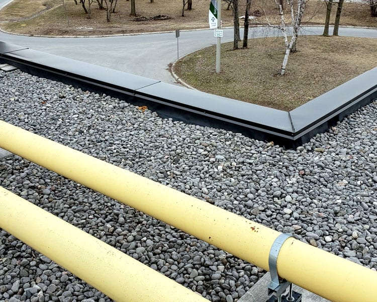 Industrial Commercial Gravel Roof