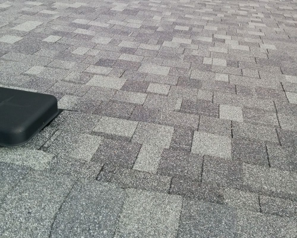 Residential Shingle Roof Grey